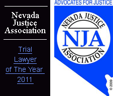 Nevada Justice Association trial lawyer of the year