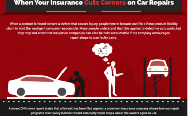 When your insurance company cuts corners on your car accident repair [infographic]