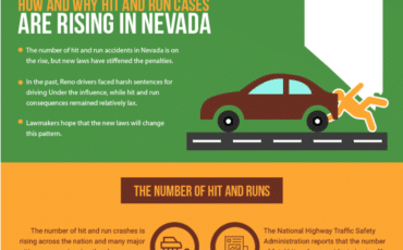 How and Why Hit and Run Cases are Rising in Nevada [infographic]