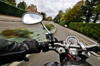 The Dangers of Riding on Two Wheels