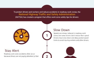Staying Safe When There's Roadwork Ahead [infographic]